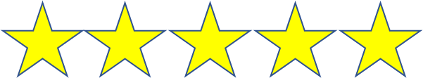 5 star graphic