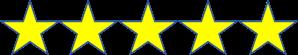 5 star graphic